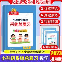 阳光同学小学毕业升学系统总复习数学六年级下册数学2020版