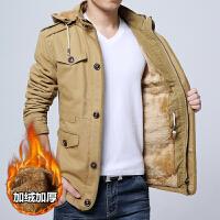 冬装棉衣男新款中长款加绒加厚棉服冬季韩版潮流棉袄男装外套