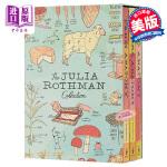 【中商原版】茱莉亚罗斯曼解剖学系列3本套装 英文原版 The Julia Rothman Collection Sto