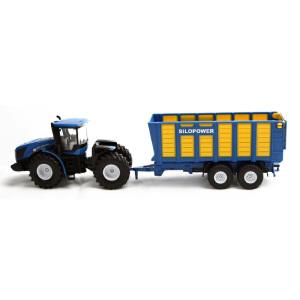 [当当自营]siku 德国仕高 1:50 纽荷兰拖拉机T9.560带饲料拖车 合金车模玩具 U1947