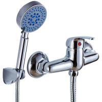 【货到付款】贝乐BALLEE 全铜淋浴龙头淋浴器 花洒四件套 0070-4