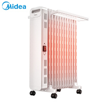 美的油汀取暖器HYX22N 油汀电暖器家用恒温省电 电暖气电暖炉13片暖气片