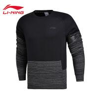 李宁卫衣男士篮球系列套头衫长袖保暖圆领男装冬季运动服AWDM671