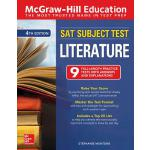 预订 McGraw-Hill Education SAT Subject Test Literature, Fourt