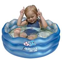 盈泰90cm 婴儿三环水池充气泳池 儿童戏水池小号宝宝洗澡浴缸