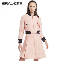ERAL/艾莱依张帅设计甜美风羽绒服女短款修身时尚轻薄羽绒服5003D