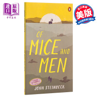 鼠与人 英文原版 Of Mice and Men John Steinbeck Penguin Books