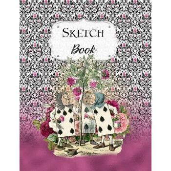 预订 Sketch Book: Alice In Wonderland Sketchbook Scetchpad for Drawing or Doo [ISBN:9781072159339] 美国发货无法退货 约五到八周到货
