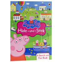 【中商原版】粉红猪小妹躲猫猫 啥是佩奇英文原版 Peppa Pig: Hide-and-Seek: A Search