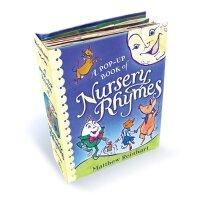 A Pop-Up Book of Nursery Rhymes经典儿歌立体书ISBN9781416918257