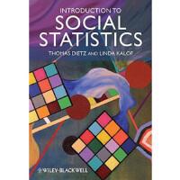 【预订】Introduction To Social Statistics - The Logic Of Statist