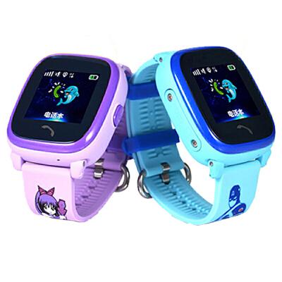 智能手表儿童手表通话插卡远程监听 防水 gps定位手表足迹跟踪 学生卡通手表 电子栅栏 触控切换防水 定位 微聊 双向通话 一键求救