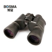 博冠BOSMA驴友10X50双筒望远镜高倍高清望眼镜广角设计