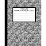 预订 Unruled Composition Notebook: Requested by College Stude