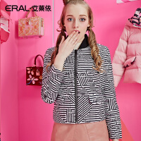 ERAL/艾莱依冬装芭比修身韩版时尚羽绒服女加厚短款12045-EDAD