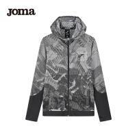 JOMA荷马男士春季新款针织连帽拉链衫运动休闲开衫卫衣满200减40
