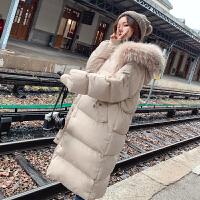 孕后期韩版宽松棉衣2019年冬季新款棉袄孕妇冬装外套