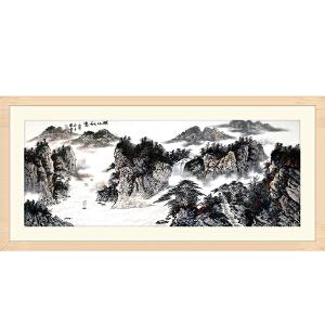 职业画家 常粟《峡江秋意》JYP012