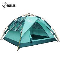 思凯乐户外帐篷新品野营家用自驾游防雨加厚3-4人全自动速开装备