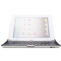 ikodoo爱酷多 ipad2无线蓝牙键盘 ipad3铝合金底座 ipad4键盘 iPad3键盘 黑色