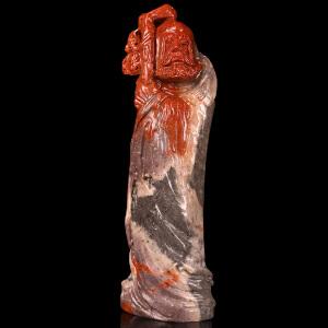 《鸿运当头摆件》寿山石 取巧全手工精雕寓意吉祥
