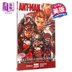【中商原版】蚁人1 英文原版 Ant-Man Vol.1: Second-Chance Man 漫威