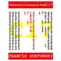 预订 Abstract Crossword 4x6C17 [ISBN:9781547153183]
