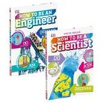 【中商原版】DK职业技能小百科2册 英文原版 How to be a Scientist/an Engineer 精装