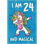 预订 Unicorn B Day: I am 24 & Magical Unicorn birthday twenty