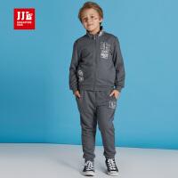 jjlkids季季乐儿童套装男童出秋款中大童长袖上衣长裤两件套童装BQZ61159