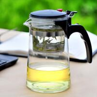 飘茗 飘逸 杯玻璃 茶具可拆洗过滤泡茶壶泡茶器功夫茶道杯玻璃杯 700A 内胆可随意拆洗安装