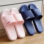 泰蜜熊一体成型全新料PVC情侣款厚底防滑夏季凉拖鞋浴室防滑洗澡拖鞋