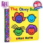 【中商原版】托德・帕尔:没关系 纸板书 英文原版绘本 The Okay Book 孩子的情商培养书 Todd Parr