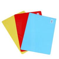 得力复写板 得力 9354 374*260mm 写字 复写板 垫板 写字板 大号 颜色*