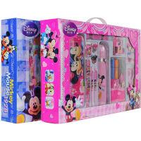 迪士尼米奇学生文具礼盒套装大号礼盒DM0010 DM0010粉色500ML