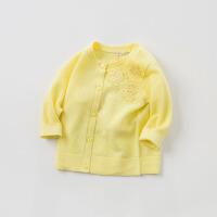 [2件3折价:87.9]戴维贝拉春季新款女童针织开衫 宝宝针织衫DB10148