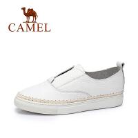 Camel/骆驼女鞋  简约小白鞋女 时尚单鞋 休闲女鞋