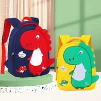 儿童书包幼儿园男孩女孩3-6岁一年级恐龙宝宝防走失背包可爱超轻