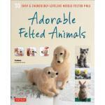 【预订】Adorable Felted Animals: 30 Easy & Incredibly Lifelike