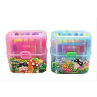 全店满百包邮!西瓜太郎 24色桶装水彩笔 筒装水彩笔 环保 水性