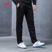 李宁卫裤男士篮球系列长裤休闲裤子男装平口运动裤AKLM809