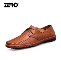 零度尚品  纯手工男鞋 头层牛皮日常休闲皮鞋 男士时尚商务鞋 F9945