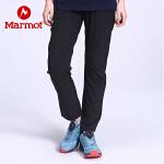 Marmot/土拨鼠2020春夏新款户外运动女式弹力舒适速干长裤