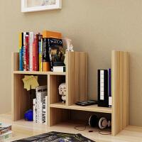 创意伸缩书架 置物架 桌面书柜儿童简易桌上收纳架储物柜办公组合柜
