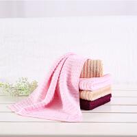 当当优品毛巾3条装 竹棉高低毛混纺面巾 34x76cm*3