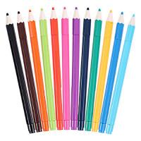 晨光AGPA6705 本味0.35mm 多色全针管 中性笔 签字笔 水笔套装 12色