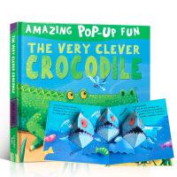全店满300减100】英文原版绘本3D立体折叠书 Amazing Pop-Up Fun The Very Clever