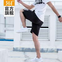 361度男装运动短裤男5分运动裤针织五分裤休闲裤