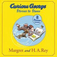 现货 好奇的乔治猴合集 汪培�E第3阶段 8个故事合辑 儿童绘本 英文原版 Curious George Stories