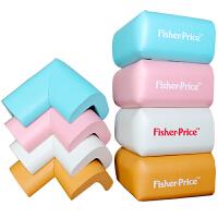 费雪(Fisher Price)玩具 儿童防护产品四合一 宝宝安全防撞角防撞条(蓝粉木白 四款)F1718